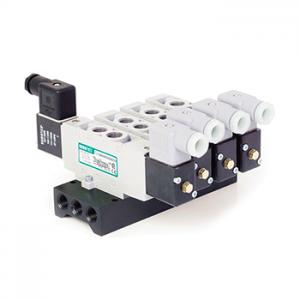 Electro válvulas accionadas por solenoide piloto o piloto, de Aire marca ASCO Numatics; es parte de los equipos / productos para neumática distribuidos en Costa Rica por Tecnosagot S.A.